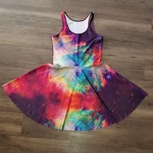 Rainbow Galaxy Dress